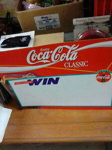 Coke Classic Double sided cardboard sign London Ontario image 1