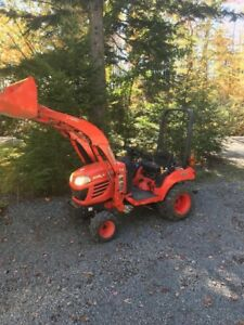 Kubota BX 1820 with snowblower and attachments