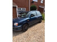 Nissan Micra 1.0 low mileage/no rust/very reliable. MOT
