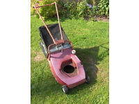 Mountfield M3 rollerdrive chassis and bag inc. frame roller handlebars