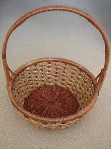 Storage baskets in townsville region qld gumtree australia free large cane christmas hamper basket with handle plaitedwoven negle Images