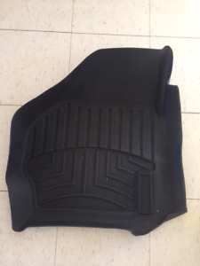 WeatherTech Floor Liners for 2004 Ford F250, 1st Row