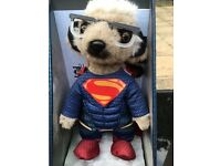 Sergei as Superman limited edition toy