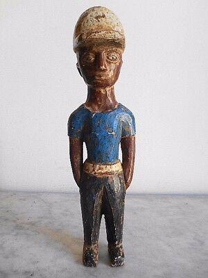 Figure Ewé Colon Figure 31cm Arte African Africanish Kunst Tribale African