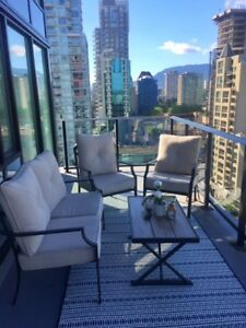 Furnished Yaletown Bedroom + Private Bathroom + Terrace