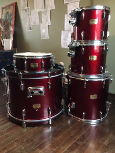 Pearl Export Series 5 Piece Drum Set