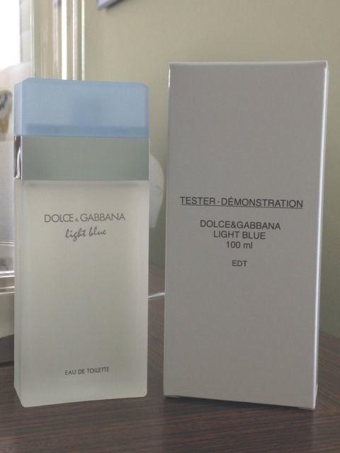 DOLCE GABBANA LIGHT BLUE 3.3 oz WOMEN PERFUME D&G EDT 100ML 3.4 NEW IN BOX W CAP