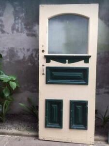 FEDERATION FRONT DOOR  AND SECURITY DOOR