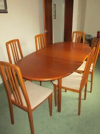dining room table and chairs for sale in elgin moray gumtree