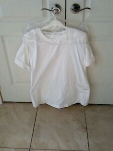 Peggy Mrazik Uniform - White - Size 13 Top - Size 11 Pants
