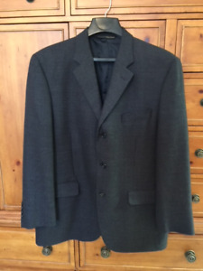 Men's dark blue sport jacket 44R