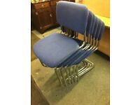 Sets of 6 stacking chairs
