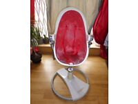 Used white Bloom Fresco high chair - collection only