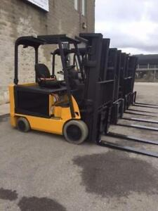 2007-2008  CATERPILLAR - 5000lb to 6500lb Capacity Electric Forklift, (MM311 and 316)