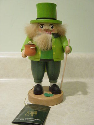 RICHARD GLASSER IRISH ST PATRICK German ERZGEBIRGE Wooden NUTCRACKER
