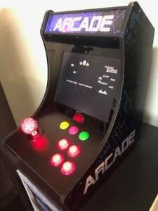 118 GAME BARTOP TABLE TOP ARCADE MACHINE GALAGA PACMAN DEFENDER