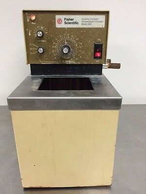 Fisher Scientific Isotemp Constant Temperature Circulator Water Heater Pump 800