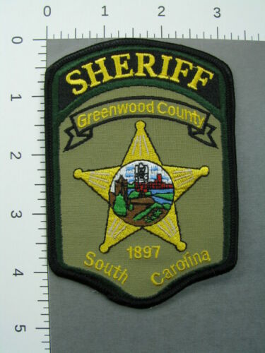 713 South Carolina SHERIFF GREENWOOD COUNTY Patch