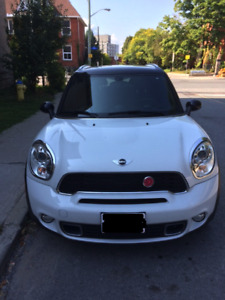 2011 Mini Copper Countryman S. All 4. Fully loaded. Low kms.