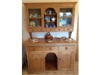 Antique Pine Welsh Dresser - make an offer!