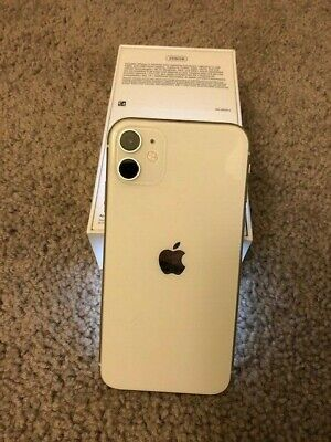 Apple iPhone 11 - 256GB - White (AT&T) A2111 (CDMA + GSM) + EXCELLENT+ Orig Box