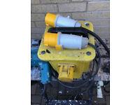 110v Transformer and Hammer Drill