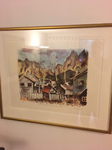 Henri Masson Signed Original Artwork