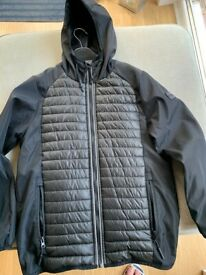 Kids Black Sonneti Padded Hooded Jacket, 12-13Y. Only Worn Once. Cost £50, accept £22 ono
