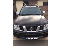 **No VAT** Nissan Navara Outlaw double cab in Black, Late 57 plate