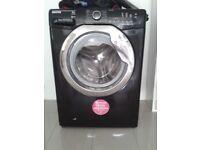 £130 9kg Drum Hoover Black & Silver Washing Machine