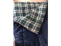 Adult navy sleeping bag