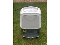 Delonghi DEC14 Dehumidifier - portable to move around the house
