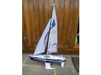 Radio Controlled Model Yacht