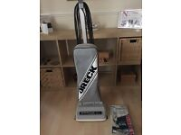 Oreck XL vacuum cleaner, with spare belt and bags