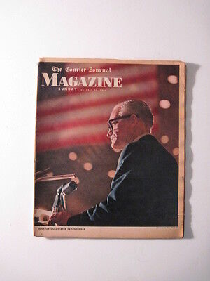 Louisville Courier Journal Magazine 1964  Barry Goldwater  C  Thomas Hardin