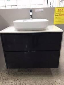 Black Vanity Package750mm $699, 900 mm $699 ON SALE! EOFY SALE!!! Surrey Hills Boroondara Area Preview