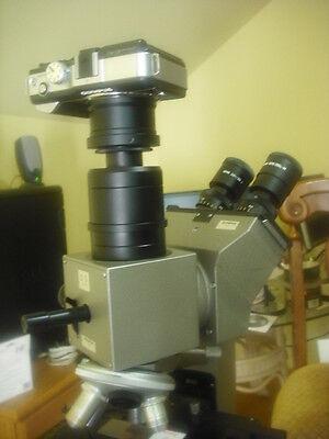 M43 Camera Adapter Olympus Microscope Trinocular 4 U-cmad3 Ax Bx Mx Cx T2 T