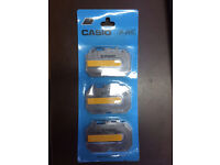 CASIO IR-20G ink ribbon cassettes