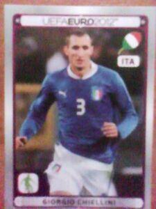 ** PANINI EURO 2012 ** STICKER ** # P7 Giorgio Chiellini - <span itemprop=availableAtOrFrom>PL, Polska</span> - ** PANINI EURO 2012 ** STICKER ** # P7 Giorgio Chiellini - PL, Polska