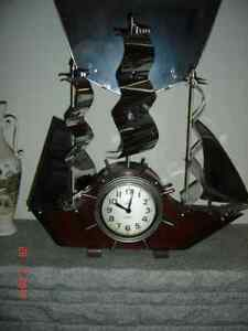 Antique Sail Ship Clock Gatineau Ottawa / Gatineau Area image 1