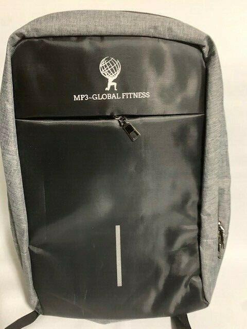 Anti-Theft USB Charging Travel Shoulder Laptop Backpack Note
