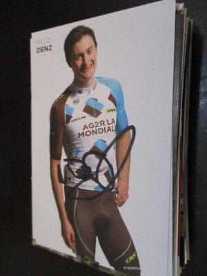 71127 Nico Denz Radsport original signierte Autogrammkarte