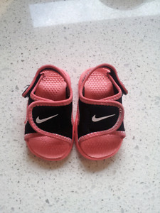 Nike Sunray Toddler Girls Sandals Size 3