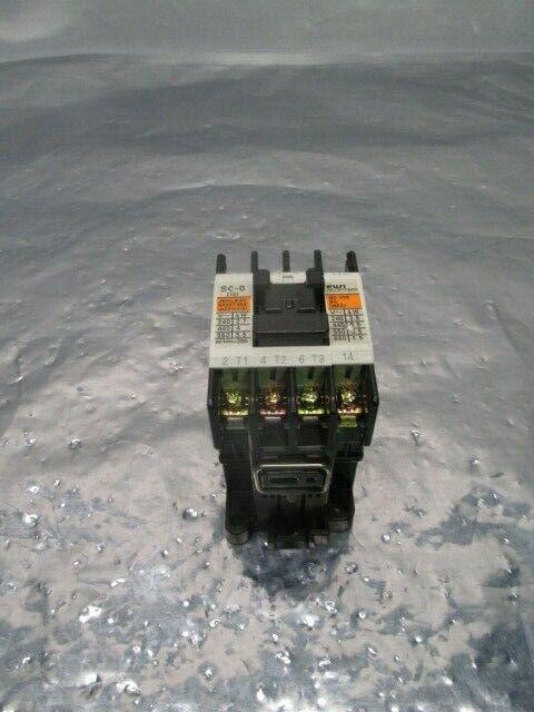 Fuji Electric Type SC-0 Contactor, 4NC0F0, 100583