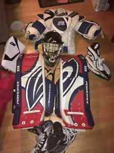 Novice Goalie Full Equipment Excellent Condition