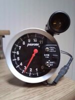 """5"""" RPM Tachometer With Light Scoop"""