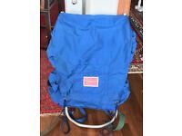 Lightweight aluminium framed backpack / rucksack