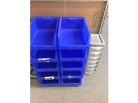 Big selection of stacking boxes & crates