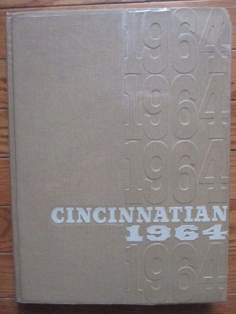 1964 Cincinnatian, University of Cincinnati Yearbook Annual, Cincinnati, Ohio