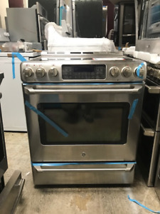 GE CAFE SLIDE-IN ELECTRIC RANGE